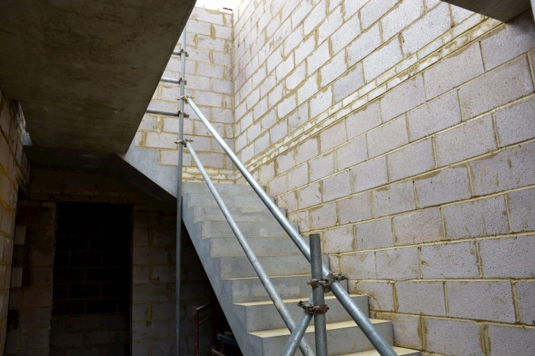 Installed Precast Concrete Steps