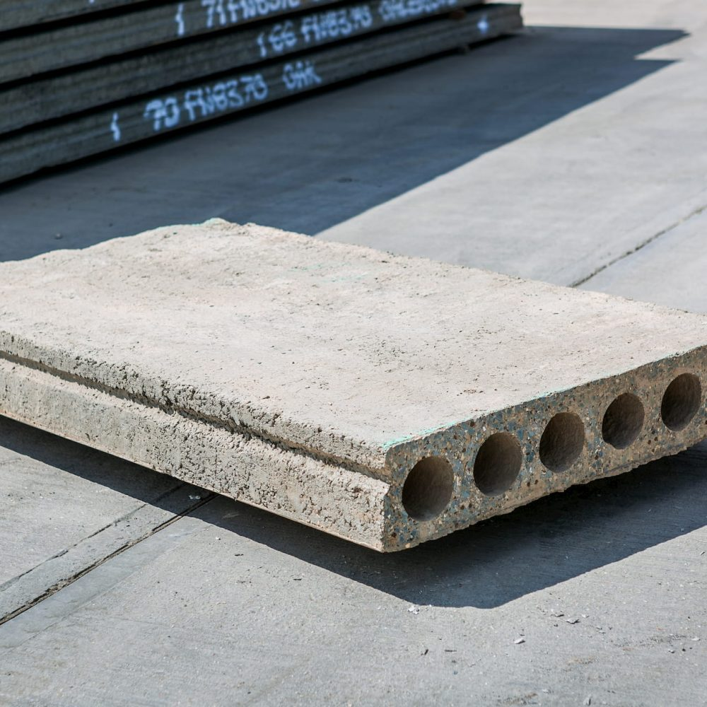 hollowcore concrete plank slab