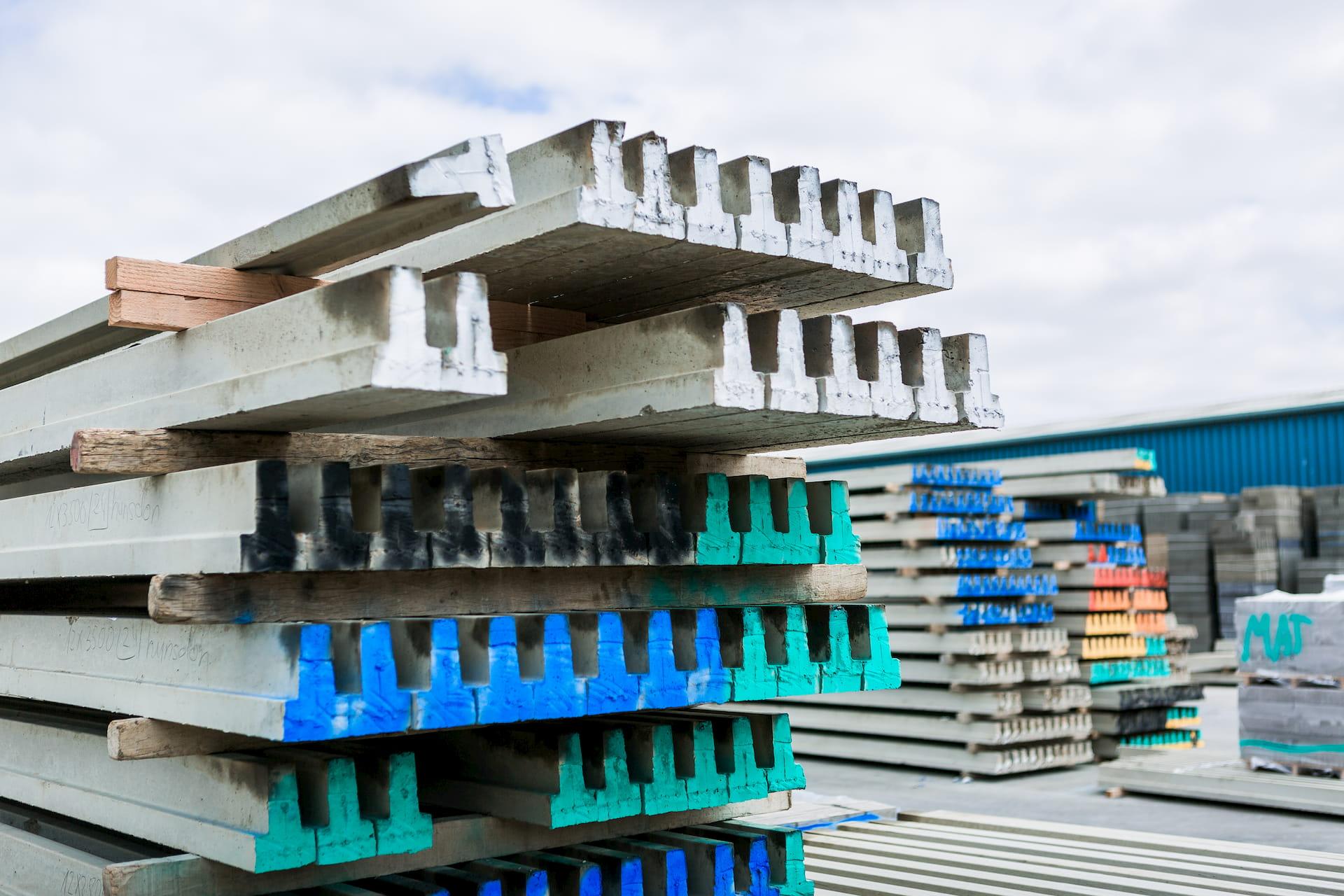 beams for block and beam flooring