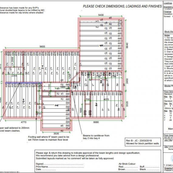 Beam & Block Floor Design