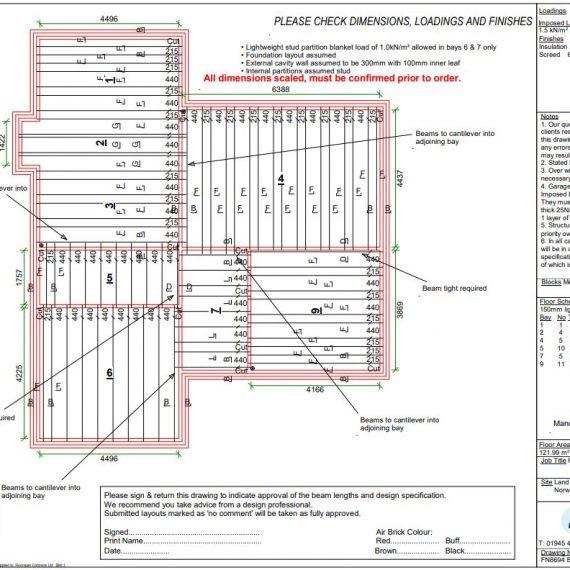 Floorspan Contracts Floor Layout Plan