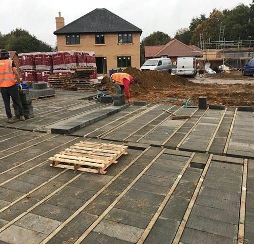 Strumpshaw Beam & Block Installation