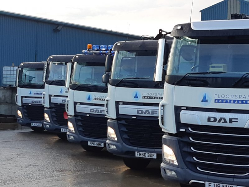 Showing Off Our Growing Fleet of Lorries
