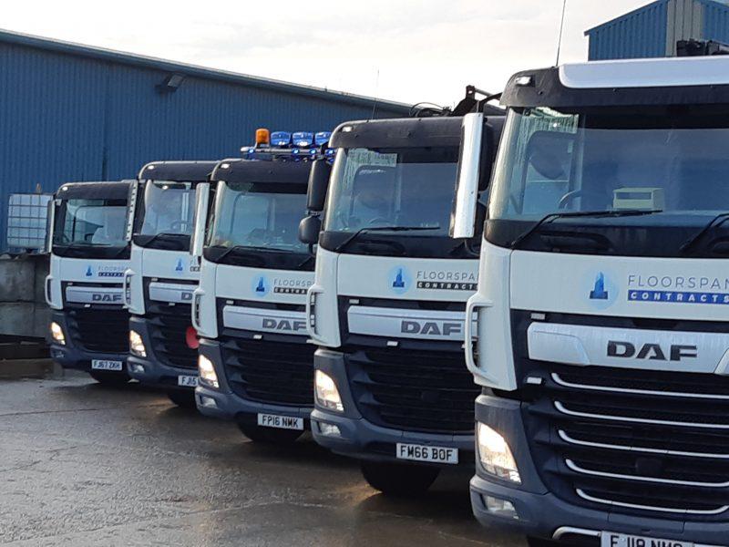 Showing Off Our Growing Fleet of Lorries