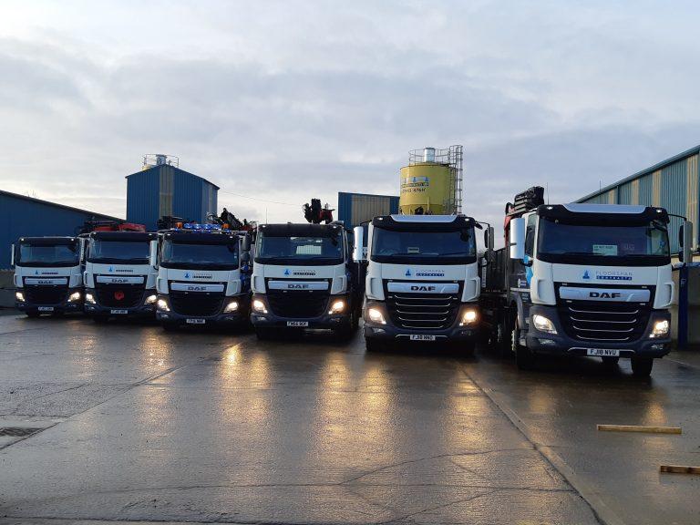 Precast Delivery & Install fleet