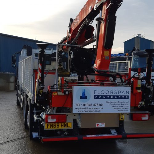 Expert Delivery With a Rear Mounted Crane