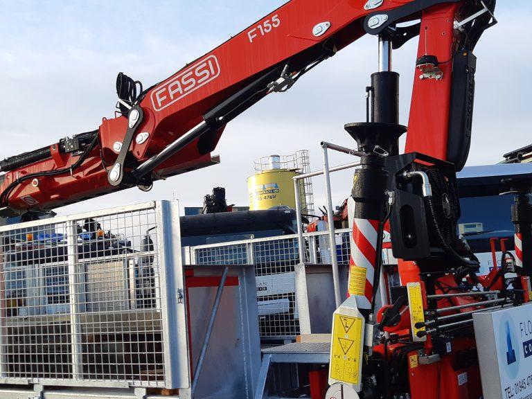 Hydraulic Fassi Crane at Floorspan Yard
