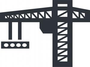 2D Crane Graphic