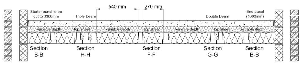 efloor plus technical design drawing
