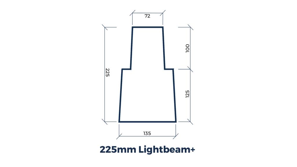 Lightbeam+ Cross Section (single) (WIDE) Wlabel T-02