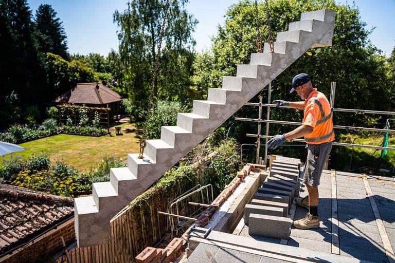 precast stairs