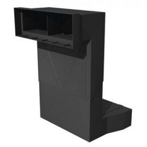 3D render of air brick extension