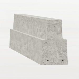 225mm concrete beam render