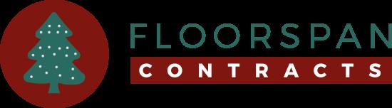Floorspan christmas logo with text